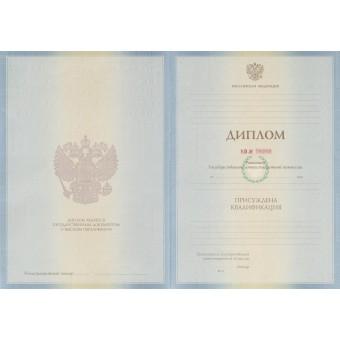 Диплом бакалавра 2011