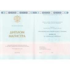 Диплом магистра 2013